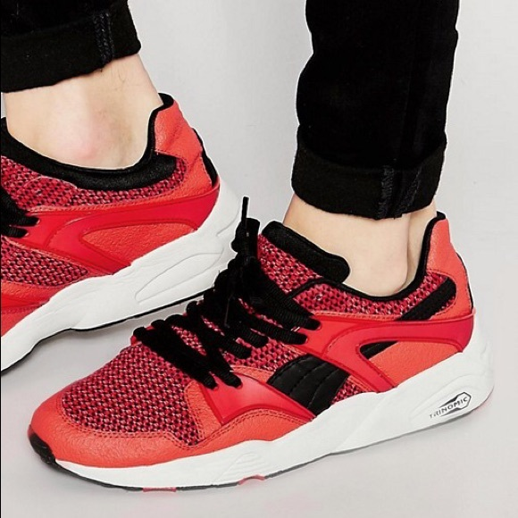 chaussure puma blaze knit low